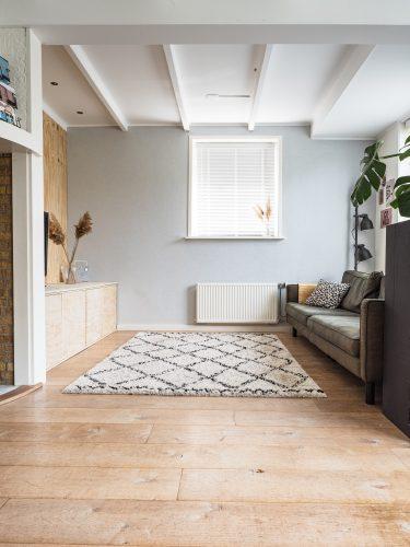Nieuwe vloer in huis